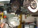Kuplung tárcsa, szerkezet, kinyomócsapágy csere autószerviz, autójavító, autójavítás: Budapest, XIII ker, 13. kerület, Angyalföld - 640x480 pixel - 113466 byte