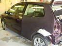 Bal hátsó sárvédő fényezés előtt, autószerviz, autójavító, autójavítás: Budapest, XIII ker, 13. kerület, Angyalföld - 640x480 pixel - 105314 byte